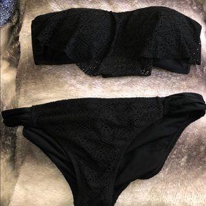 Other - Two piece black bikini